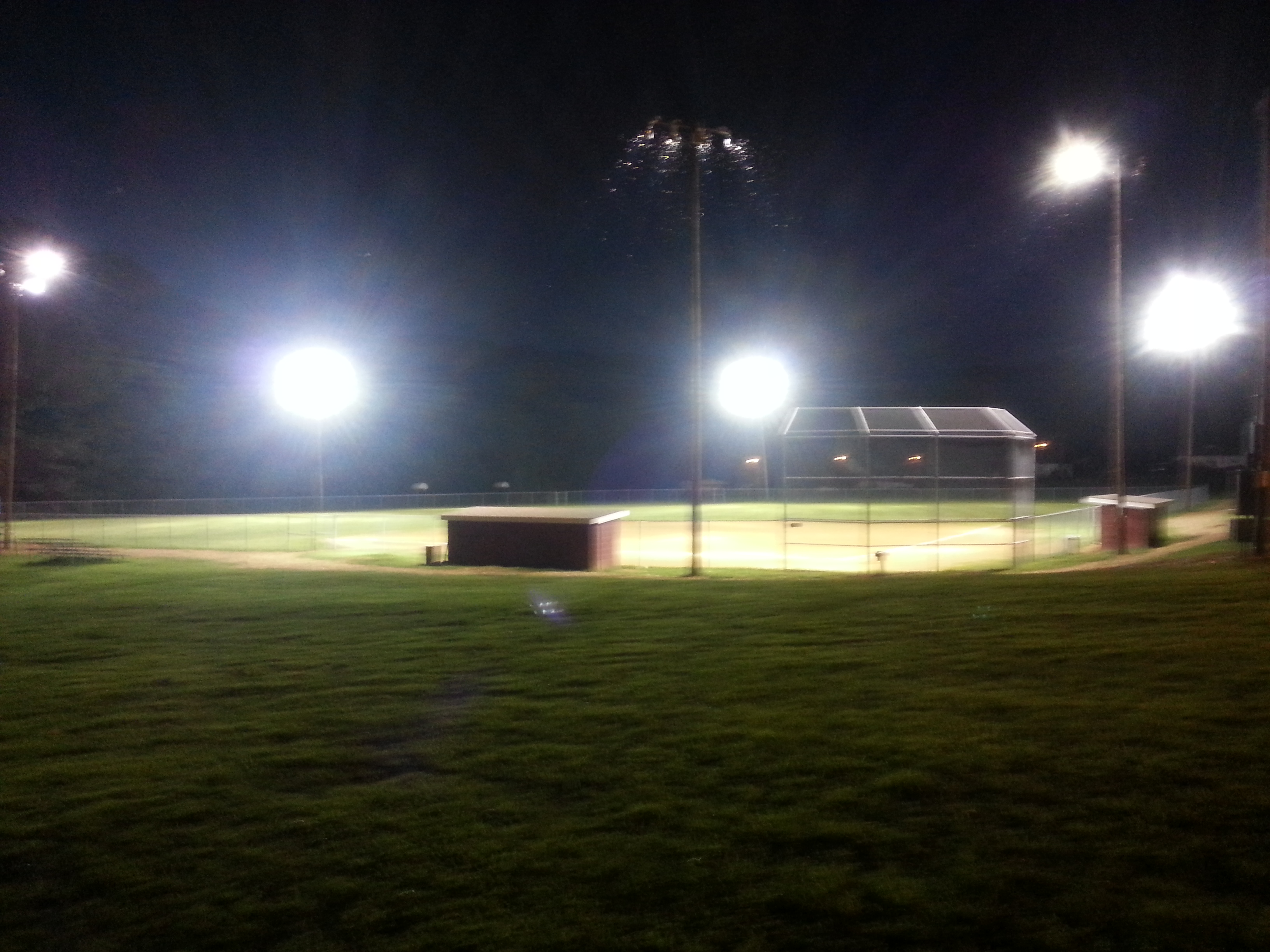 Pembroke Ball Field Lights
